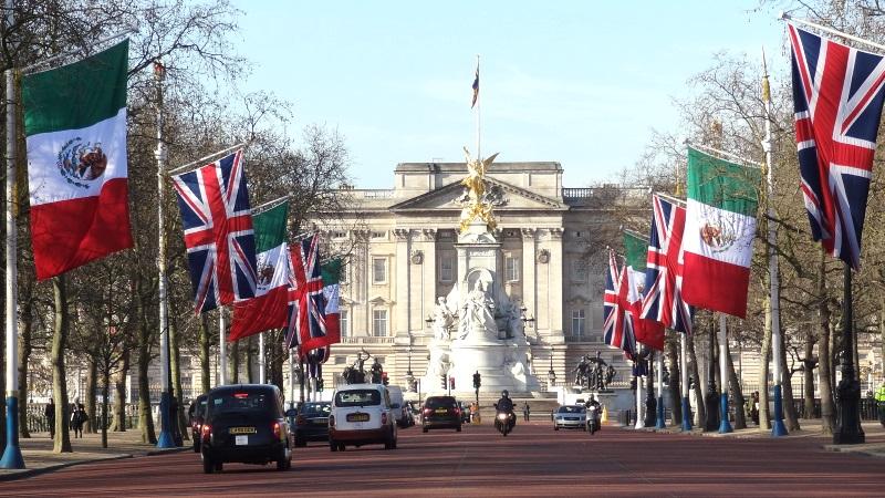 El Palacio de Buckingham de Londres, un icono para cualquier viajero