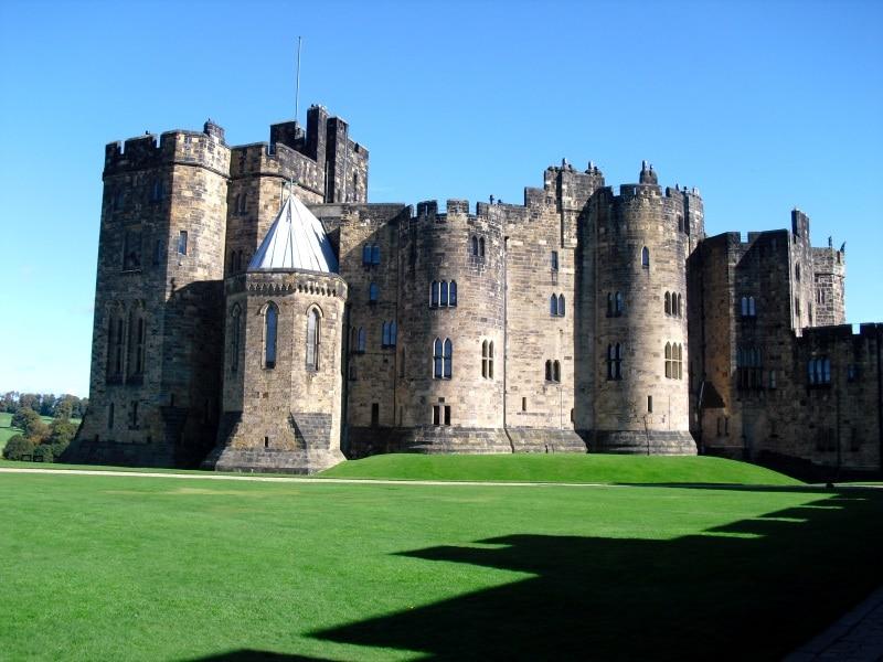 Harry Potter se rodó en los exteriores del Castillo Alnwick