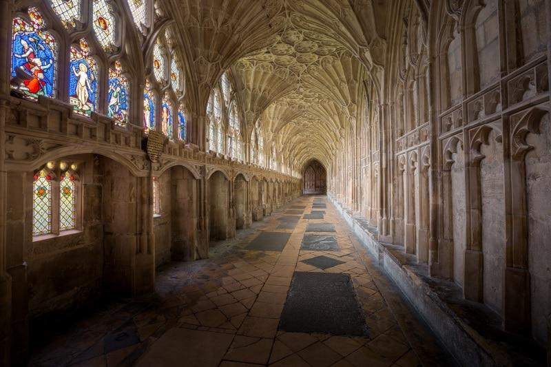 Harry Potter y el escenario de rodaje en el Castillo de Gloucester