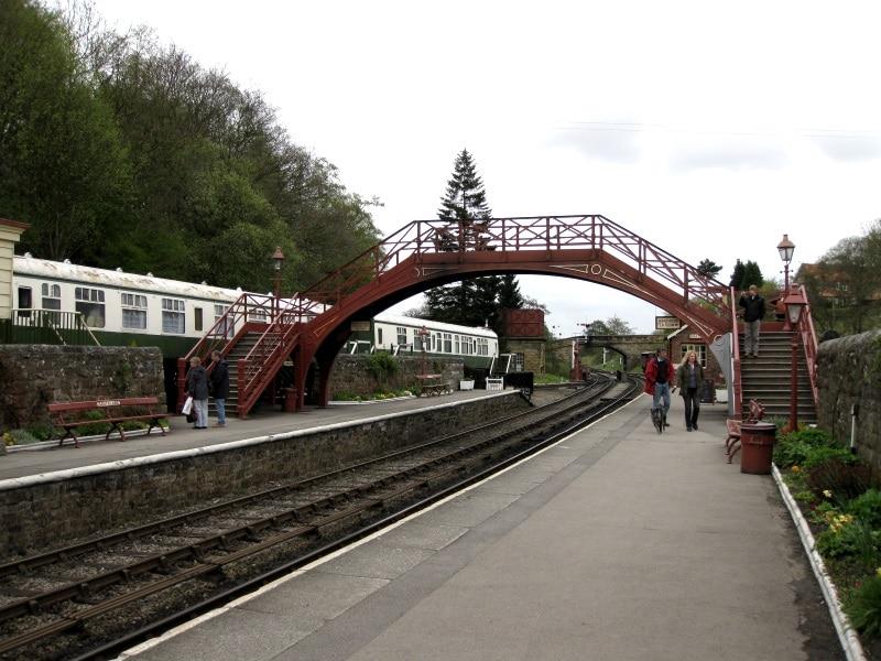 Estación de tren de Goathland como Hogsmade