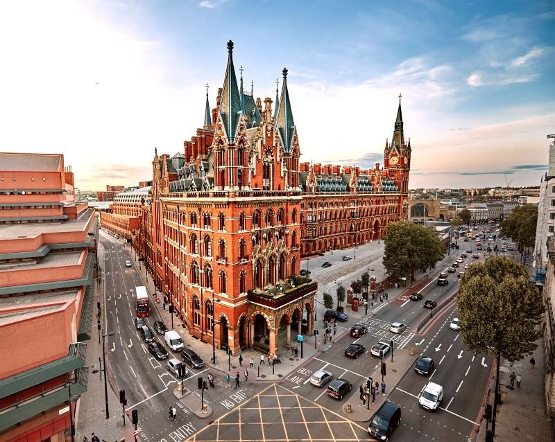 Harry Potter y Hotel St. Pancras Reinaissance