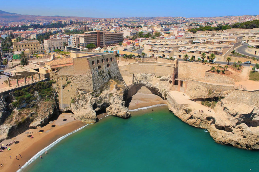 Las playas de Melilla son muy turísticas