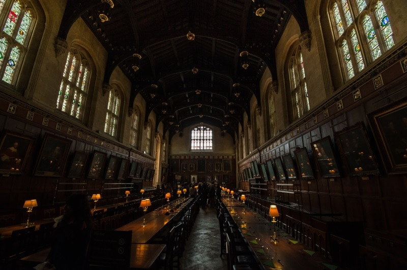 Christ Church, escenario de rodaje en Harry Potter