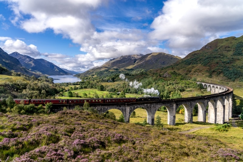 Viaducto de Glenfinnan, lugar de rodaje de Harry Potter