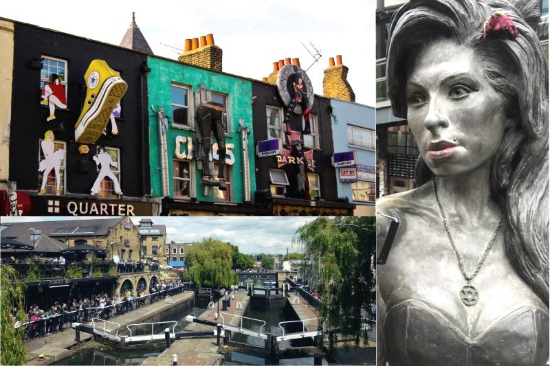 Camden Town y sus puestos góticos de Londres