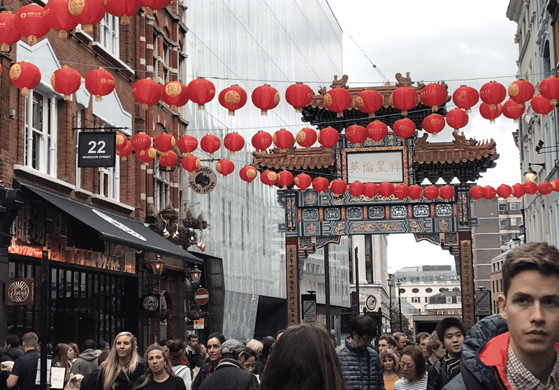 Visitar el barrio de Chinatown en Londres