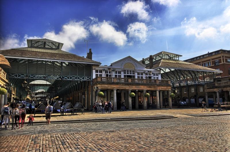 Que hacer en Londres para visitar el Covent Garden