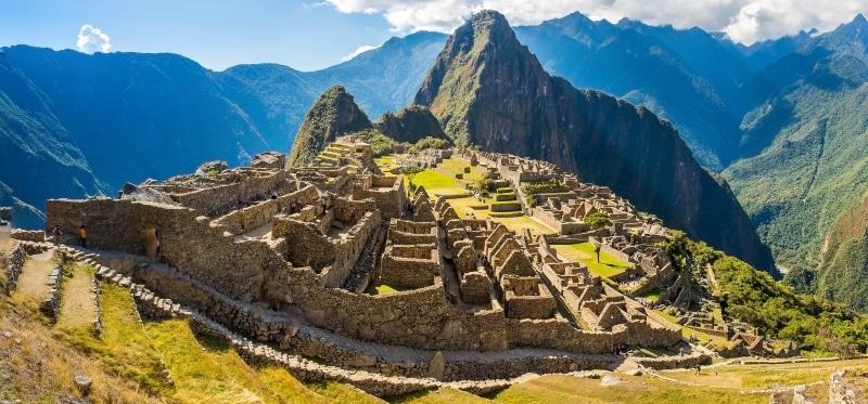El Machu Picchu de Perú una las más populares maravillas
