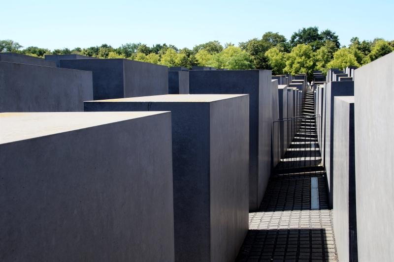 El Memorial al holocausto judío es uno de los memoriales de Berlín