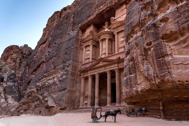 Petra, una de las 7 maravillas del mundo moderno
