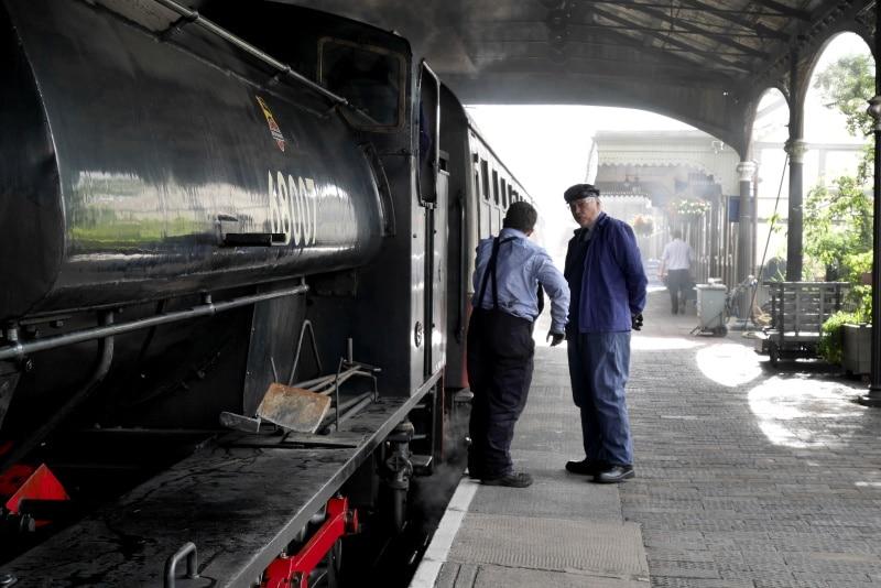 Estación Bo'ness and Kinneil es uno de los lugares más populares