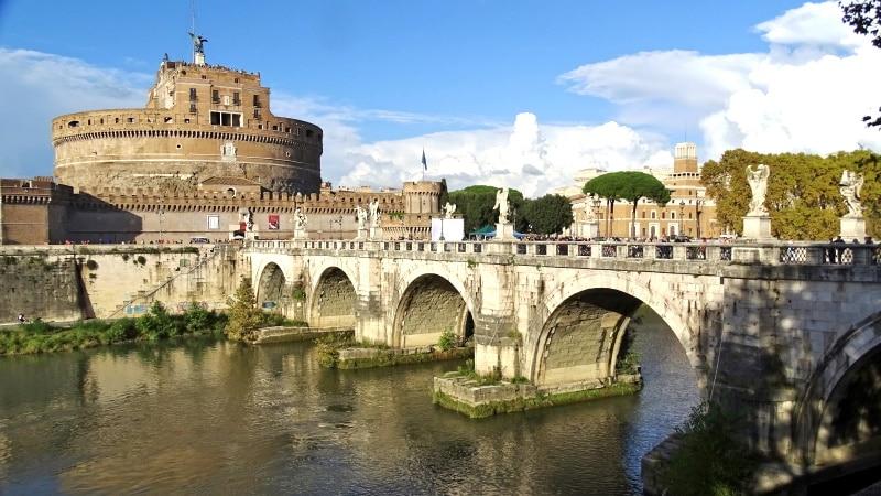 El Castillo de Sant Angelo en Roma