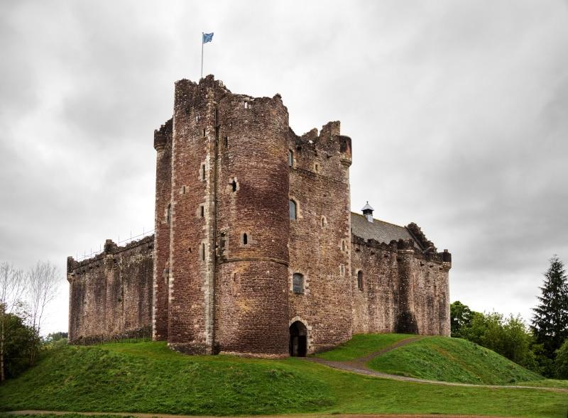 Castillo de Doune es el castillo del clan Mackenzie