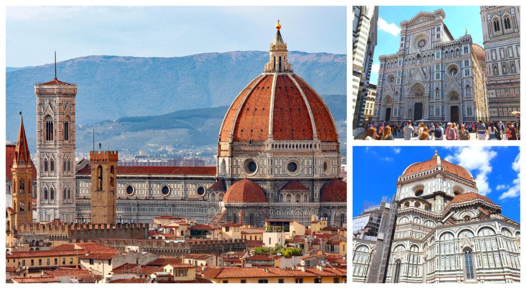Catedral de Florencia se encuentra en la Piazza del Duomo