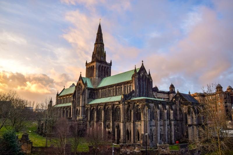 Catedral de Glasgow uno de los lugares de rodaje de Outlander