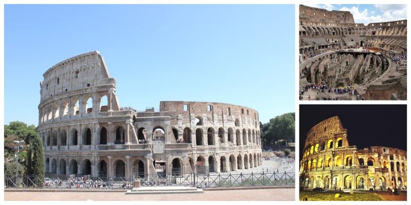 Coliseo de Roma, uno de los monumentos históricos de Roma