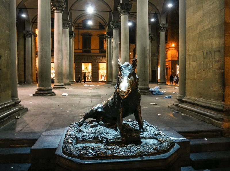 Conoce Il Porcellino en Florencia