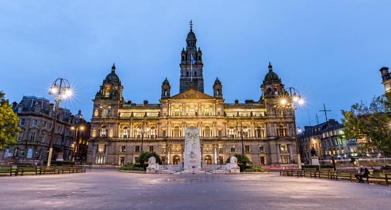 Glasgow y Outlander