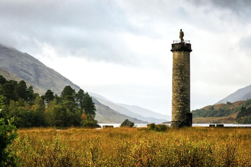 Uno de los lugares de rodaje de Outlander más populares