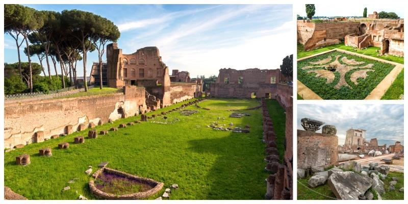 Conoce todos los monumentos históricos de Roma en el Palatino