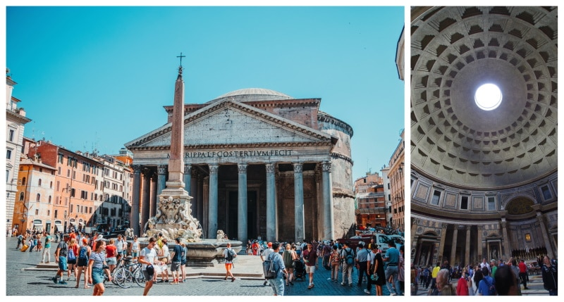 Conoce el Panteón de Agripa
