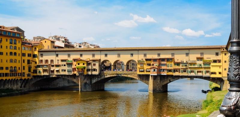 Ponte Vecchio, el símbolo más icónico de Florencia