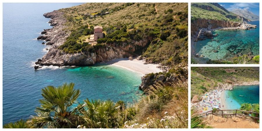 Riserva naturalle de lo Zingaro en Sicilia