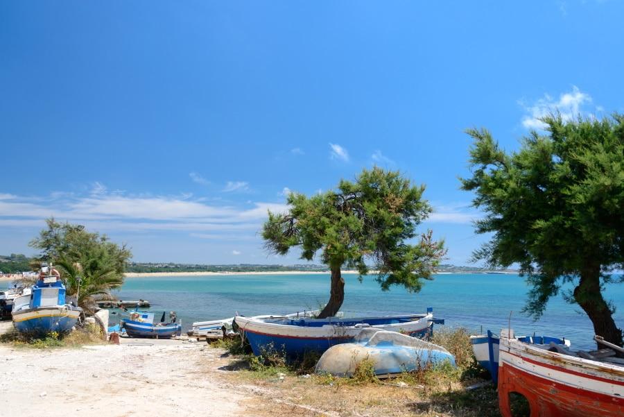 Las playas de Sicilia son idílicas