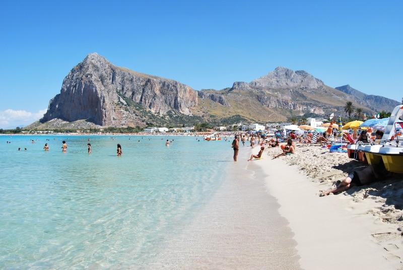 En San Vito Lo Capo se encuentra una de las mejores playas de Sicilia