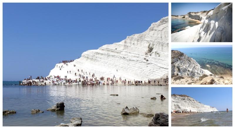 Escalera del Turco, una de las mejores playas de Sicilia