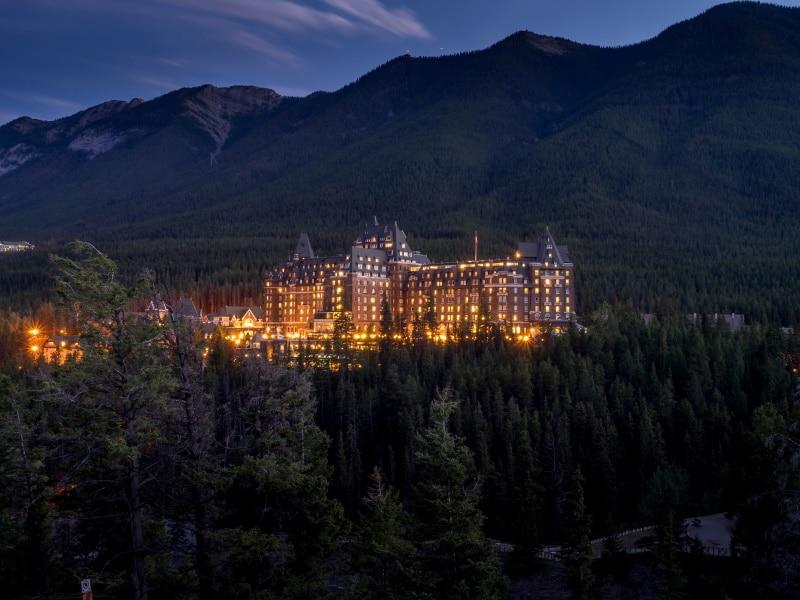 Banff Springs Hotel, uno de los lugares para visitar en Halloween