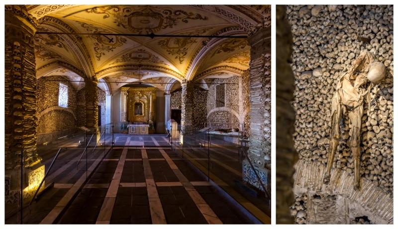 Capilla de los Huesos se encuentra en Évora