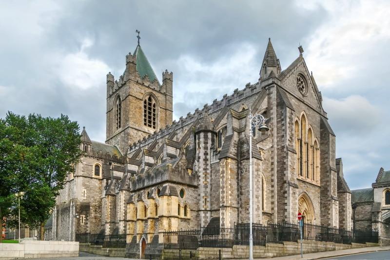 Los lugares turísticos de Dublín son sus catedrales