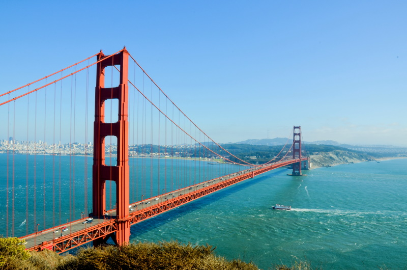 Conoce el famoso Golden Gate de San Francisco