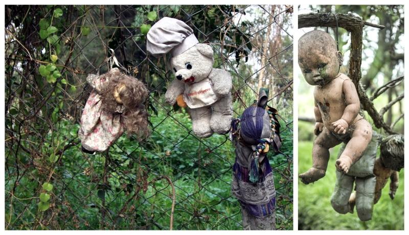 En México se encuentra la Isla de las Muñecas, un lugar aterrador para visitar en Halloween