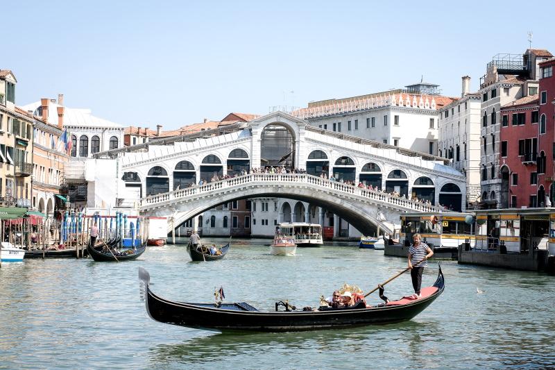 Venecia, una de las ciudades donde se encuentra uno de los puentes más famosos del mundo