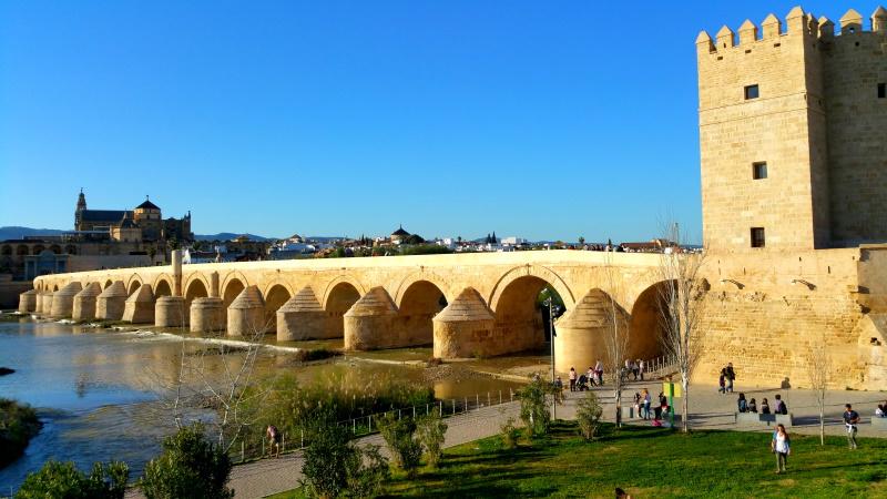 Puente Romano de Córdoba es uno de los puentes más famosos del mundo