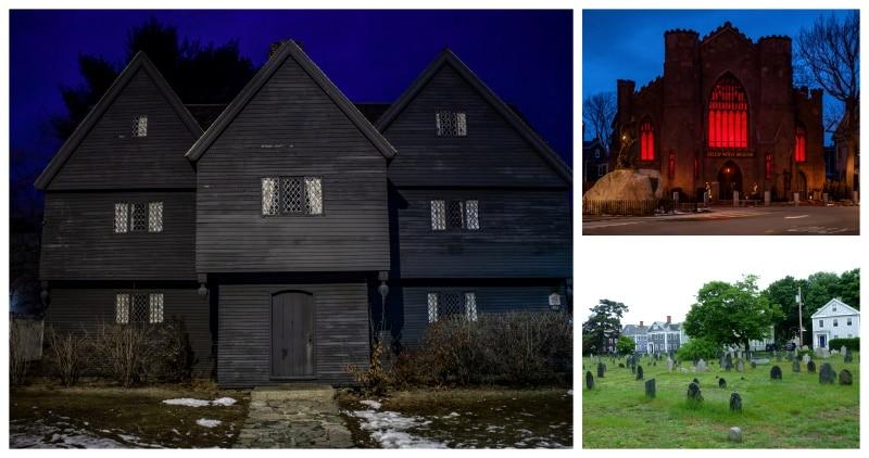 El pueblo de Salem es uno de los lugares para visitar en Halloween más populares