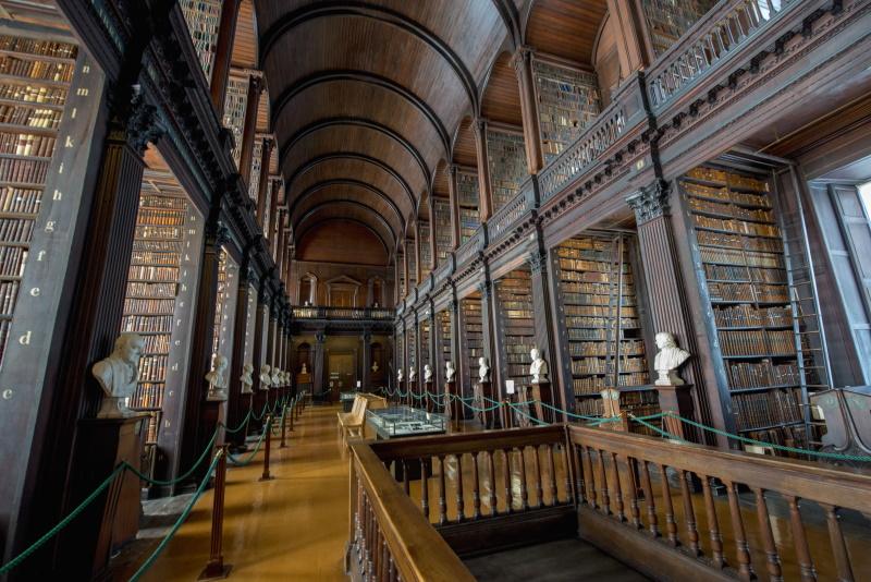 Conoce Trinity College y sus famosos libros antiguos