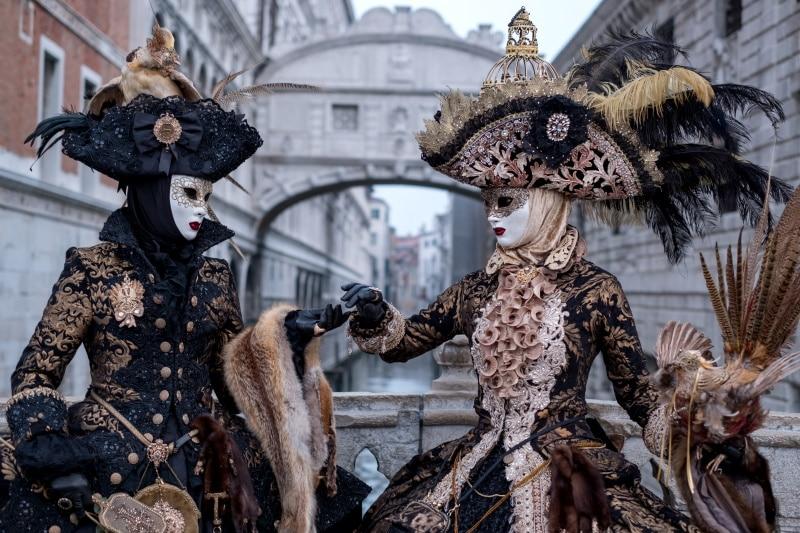 El Carnaval en Venecia es una de las recomendaciones principales