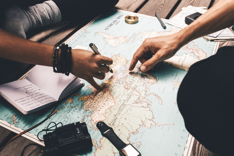 Elegir tu destino de vacaciones