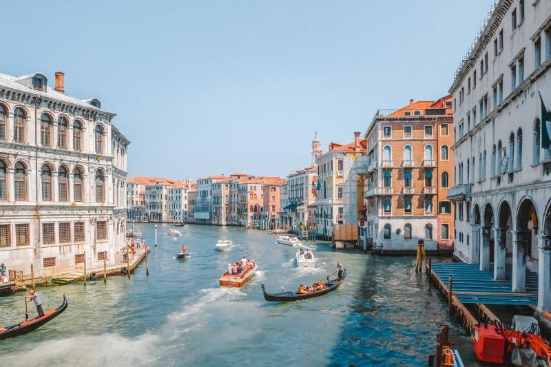 Gran Canal de Venecia entre las recomendaciones