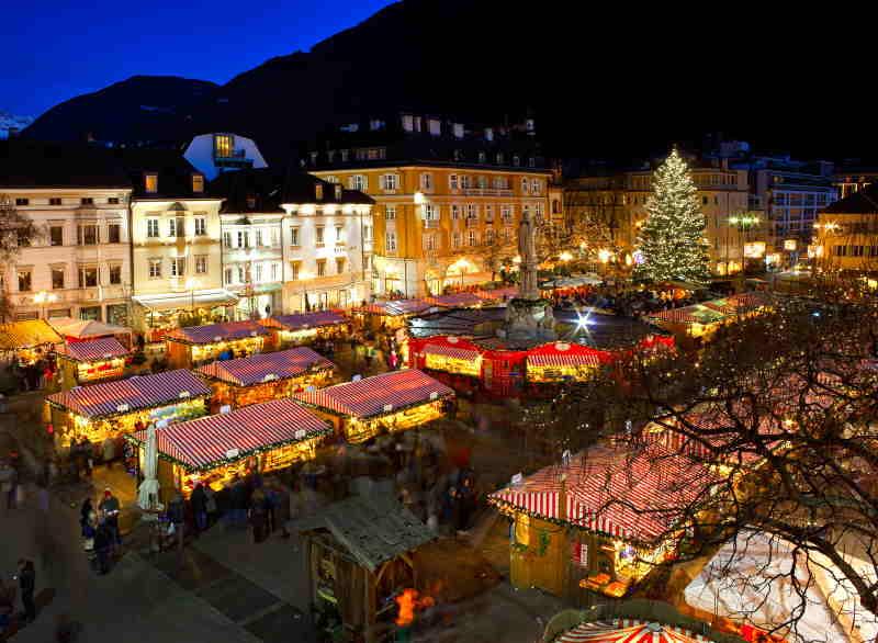 El mercado navideño de Bolzano es uno de los más famosos de Europa