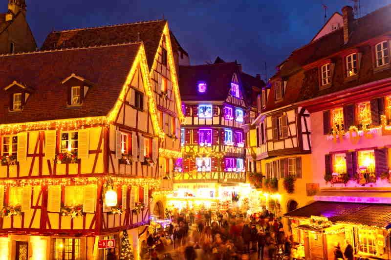 Colmar, uno de los pueblos europeos más famosos por sus mercados navideños