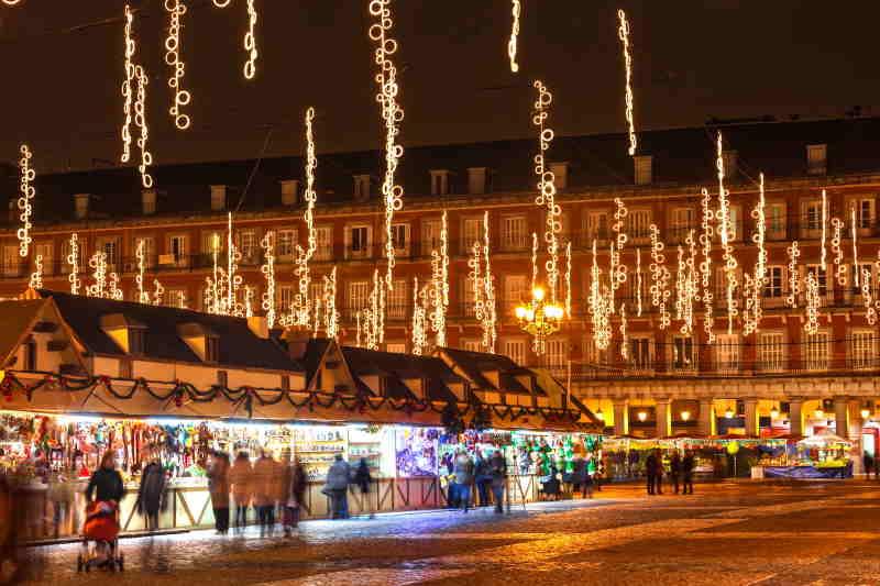 España cuenta con puestos de Navidad famosos por sus productos artesanales