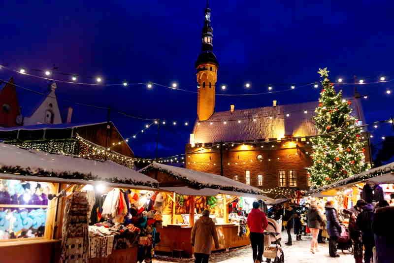 Tallin, entre los mejores países europeos por sus mercadillos de Navidad