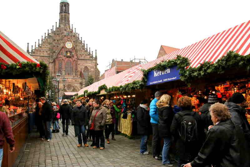 El mercado de Navidad de Nuremberg es muy popular