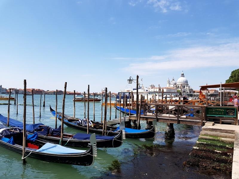 Venecia y las góndolas más populares