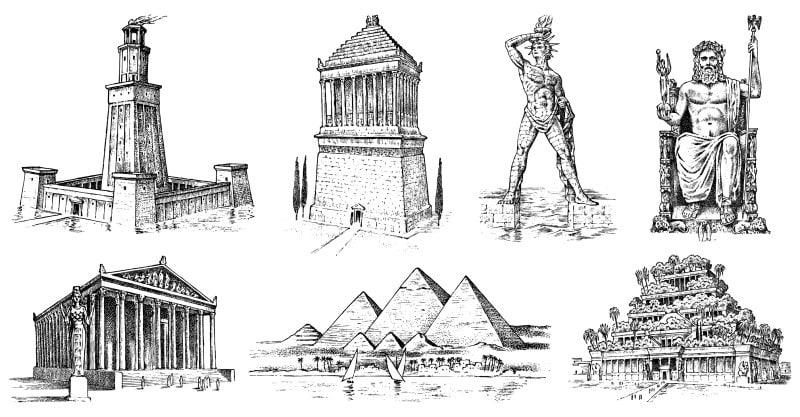 Grandes maravillas del mundo antiguo
