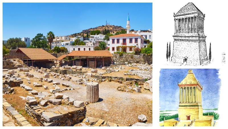 El Mausoleo de Halicarnaso aun quedan sus ruinas en Turquía